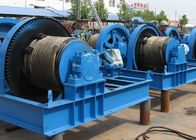 Wire Rope Industrial Electric Winch , Electric Marine Winch Large Load Capacity