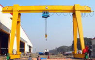 Material Handling 10 Ton Mobile Gantry Crane Single Girder Steel Box Type