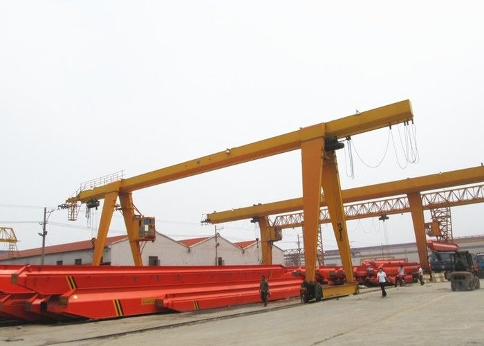 Industrial MH Single Girder Gantry Crane For Warehouse / Port Material Handling